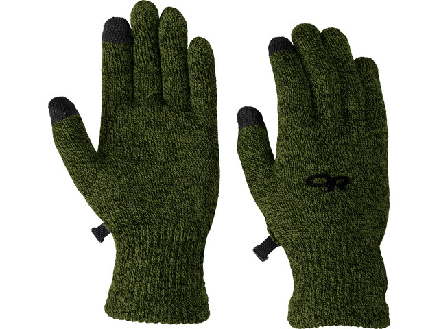 Outdoor Research Biosens Liners Gloves Men evergreen